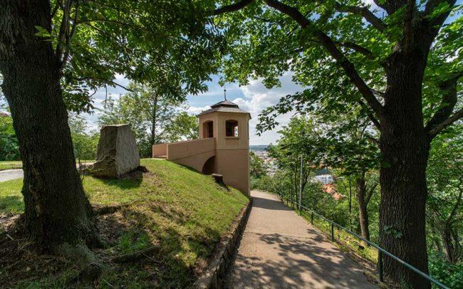 Park Na vrchu Vítkově